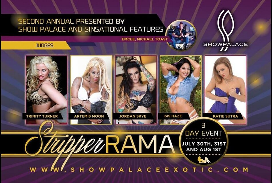 StripperRAMA II/Star Search 2015 WI - Show Palace: Darien, WI - July 30, 31 & August 1, 2015
